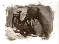 Bicycle in Palladium